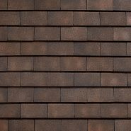 Керамическая черепица KORAMIC 303 Plain Tile Sanded 170*270мм old english weathered